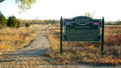 Livestock in the Flint Hills Marker image. Click for full size.