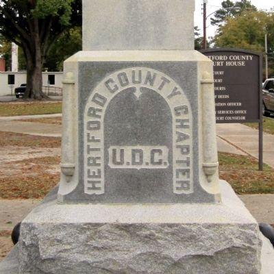 Hertford County UDC Monument image. Click for full size.