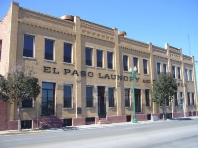 El Paso Laundry and Cleaners Company image. Click for full size.
