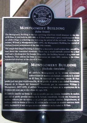 Montgomery Building Marker image. Click for full size.