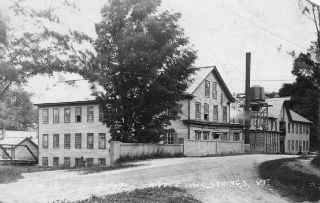 A. W. Gray & Sons Horsepower Factory image. Click for full size.