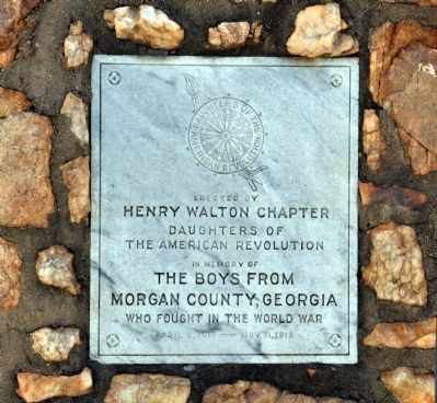 In Memory of the Boys from Morgan County, Georgia Marker image. Click for full size.