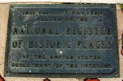 First State Bank NRHP Marker image. Click for full size.