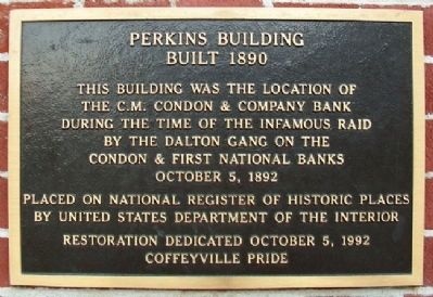 Perkins Building Marker image. Click for full size.