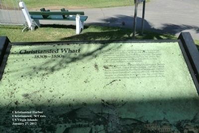 Christiansted Wharf Marker image. Click for full size.