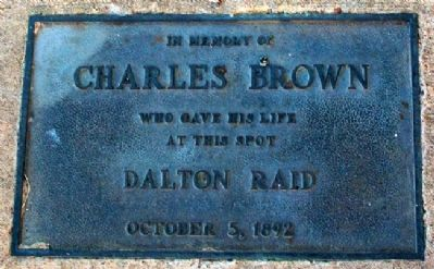 Charles Brown Marker image. Click for full size.