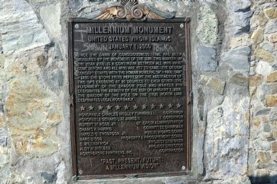 Millennium Monument Marker image. Click for full size.