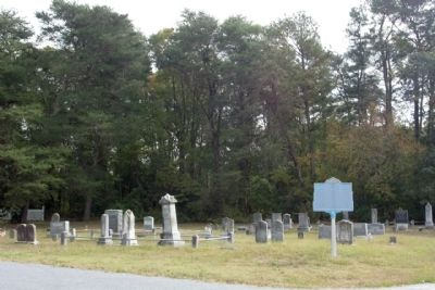 Bethesda Methodist Church Cemetery with Marker image. Click for full size.