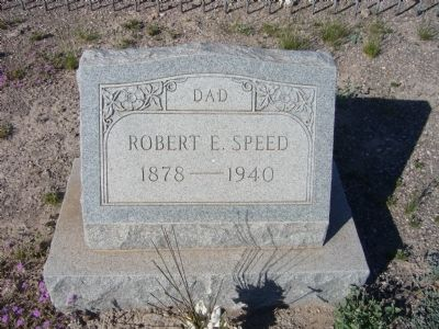 Robert Speed grave image. Click for full size.