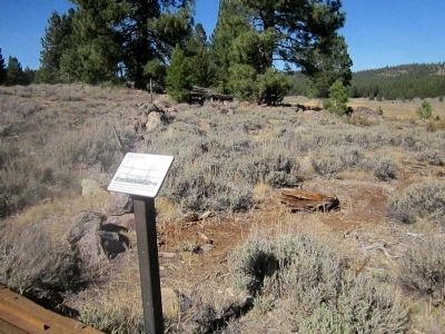 The Corral Marker and Corral Site image. Click for full size.