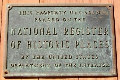 Smith Tannery NRHP Marker image. Click for full size.