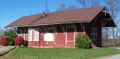 Former Greenfield,Ohio, DT&I Railroad Depot image. Click for full size.