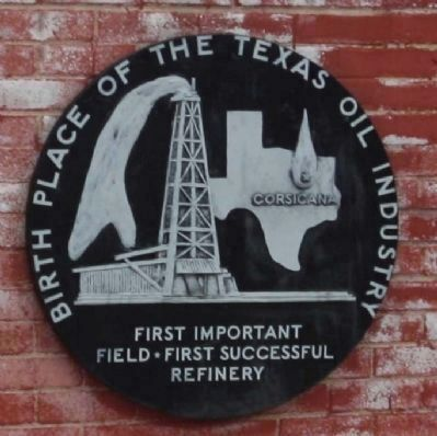 <i>Corsicana </i> Birthplace Of The Texas Oil Industry image. Click for full size.