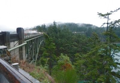 Deception Pass Bridge, north side image. Click for full size.