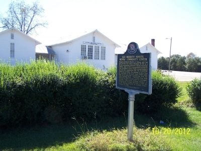 Old Merritt School Midway Community Center Marker image, Touch for more information