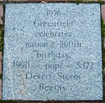 Greenfield, Ohio, Timeline Marker image. Click for full size.