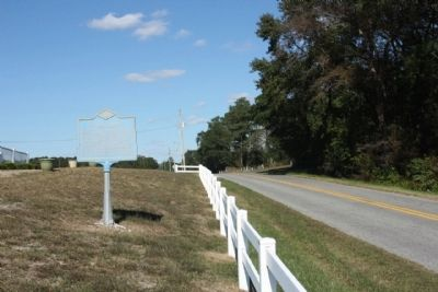 Bethel Church Marker, looking north on Bethel Road (County Road 419) image. Click for full size.
