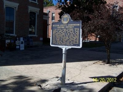 Bullock County Courthouse Historic District Marker image. Click for full size.