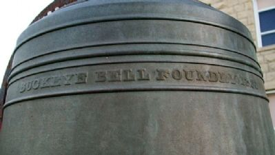 Hill School Bell Foundry Mark image. Click for full size.