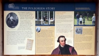 The Polegreen Story Marker image. Click for full size.