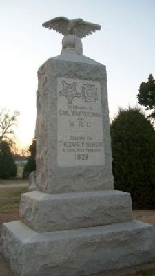 Civil War and Woman's Relief Corps Memorial image. Click for full size.