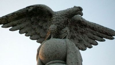 Civil War and Woman's Relief Corps Memorial Eagle image. Click for full size.