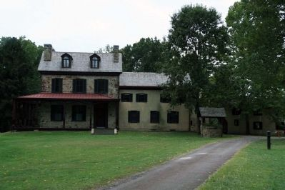 Albert Gallatin's home at Friendship Hill image. Click for full size.