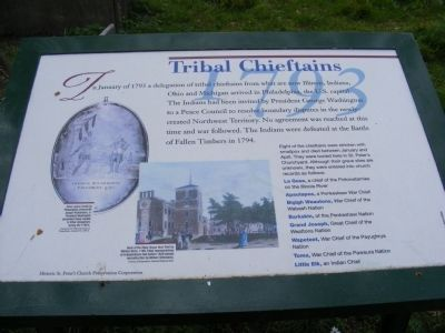 Tribal Chieftains Marker image. Click for full size.