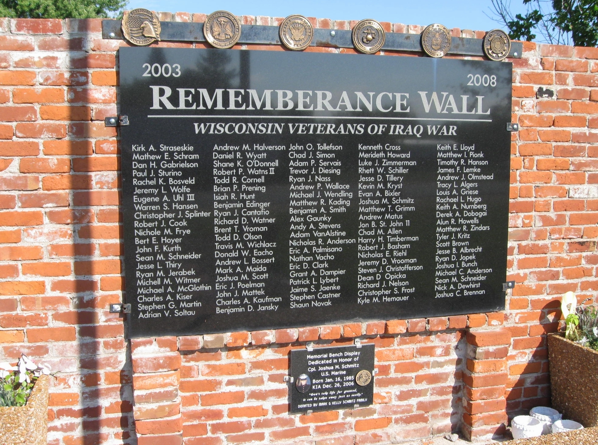 Rememberance Wall