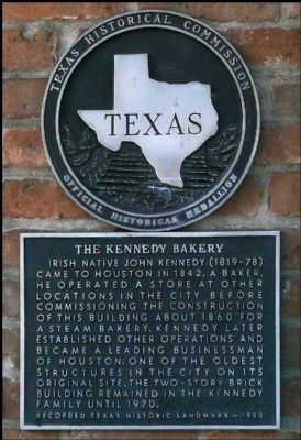 The Kennedy Bakery Marker image. Click for full size.