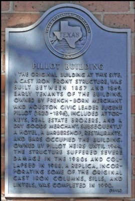 Pillot Building Marker image. Click for full size.