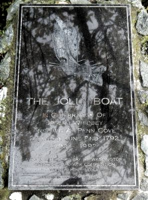 The Jolly Boat Marker image. Click for full size.