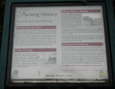 Farming History Marker image. Click for full size.