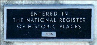 Trinity Episcopal Church National Registry Marker image. Click for full size.