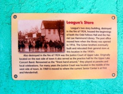 League's Store Marker image. Click for full size.