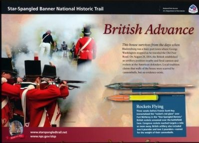 British Advance Marker image. Click for full size.