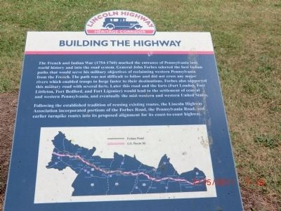 Lincoln Highway Heritage Corridor Marker image. Click for full size.