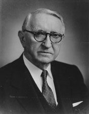 Senator Walter F. George image. Click for full size.