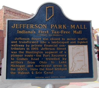 Jefferson Park Mall Marker image. Click for full size.