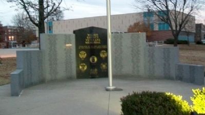 Wilson County Veterans Memorial image. Click for full size.