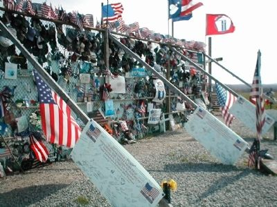 Flight 93 National Memorial Marker image. Click for full size.