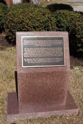 Flag Park Marker image. Click for full size.