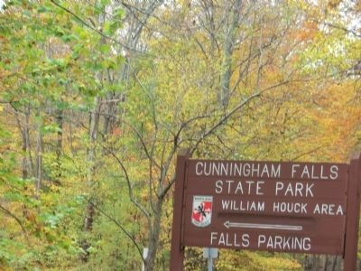 Cunningham Falls Marker image. Click for full size.
