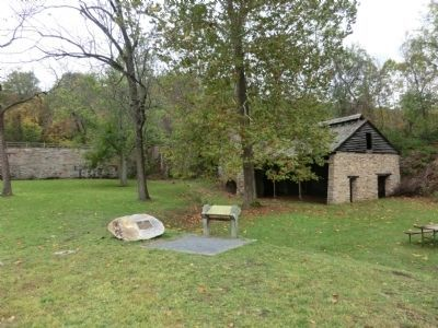 Catoctin Iron Furnace image, Touch for more information