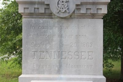 Tennessee C.S.A. Cavalry Marker image. Click for full size.