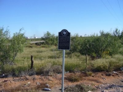 Old Wink Cemetery Marker image. Click for full size.