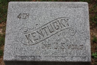 4th Kentucky Infantry Regiment (US Volunteers) Marker image. Click for full size.