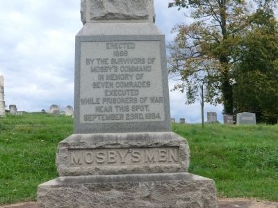 Mosby's Men Marker image. Click for full size.