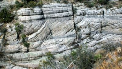 Walnut Canyon Cross-Bedded Sandstone Formation image. Click for full size.