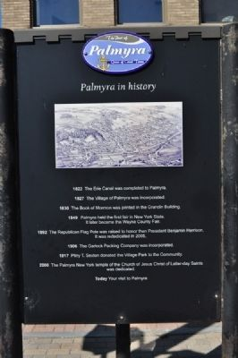 Palmyra in History Marker image. Click for full size.